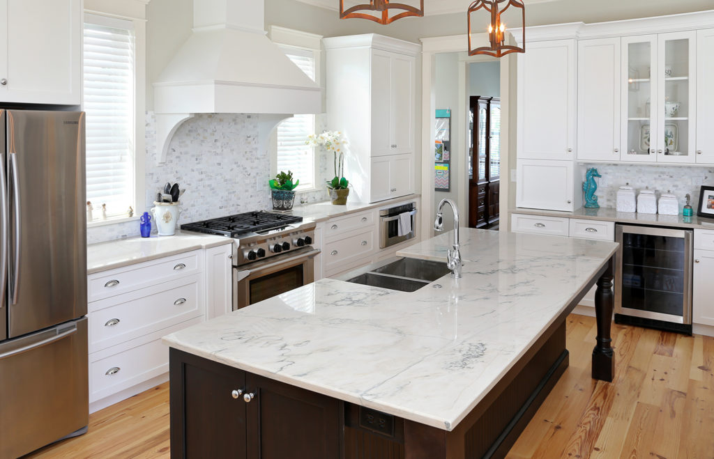 Beautiful Kitchen with Custom Countertops in Charleston